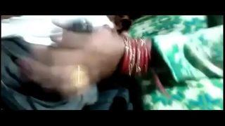 beautiful new married bhabhi doing hand job cock rubing nip and doing hard fucking with audio