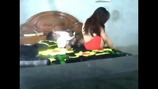 Desi bangla cute lovers having sex at home