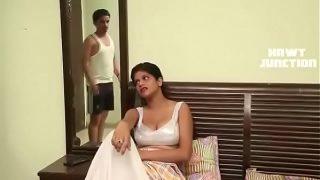 Desi Housewife teaches servant
