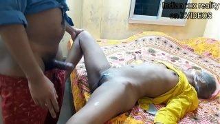 I fucked my drug addict new young mom Janhvi With Hindi audio