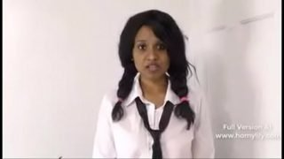 Indian Porn Star Horny Lily Playing Sexy School Girl Role Play