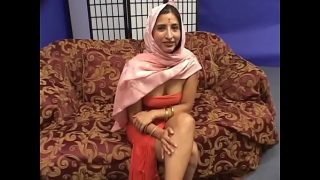 Indian slut is double teamed by studs indoors