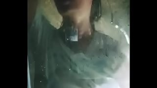 Poonam pandey taking shower in tranparents clothes